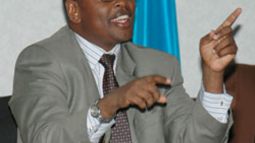Local Government Minister James Musoni.The New Times /File