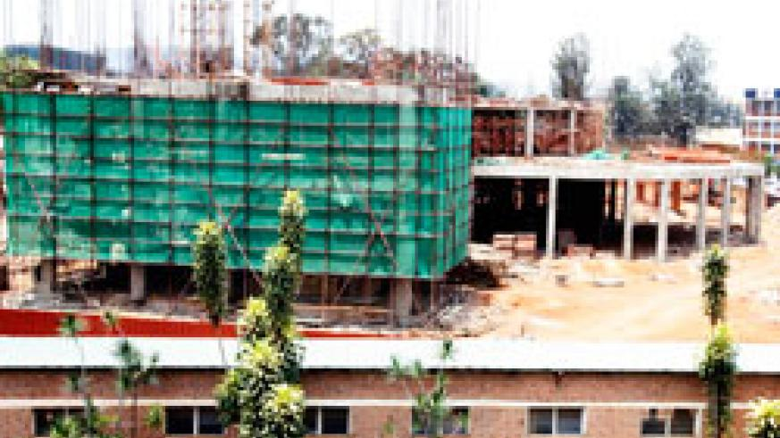 A building under construction in Kigali;Rwanda Bureau of Standards has warned that buildings constructed using substandard cables are more at risk of a fire outbreak. The New Times