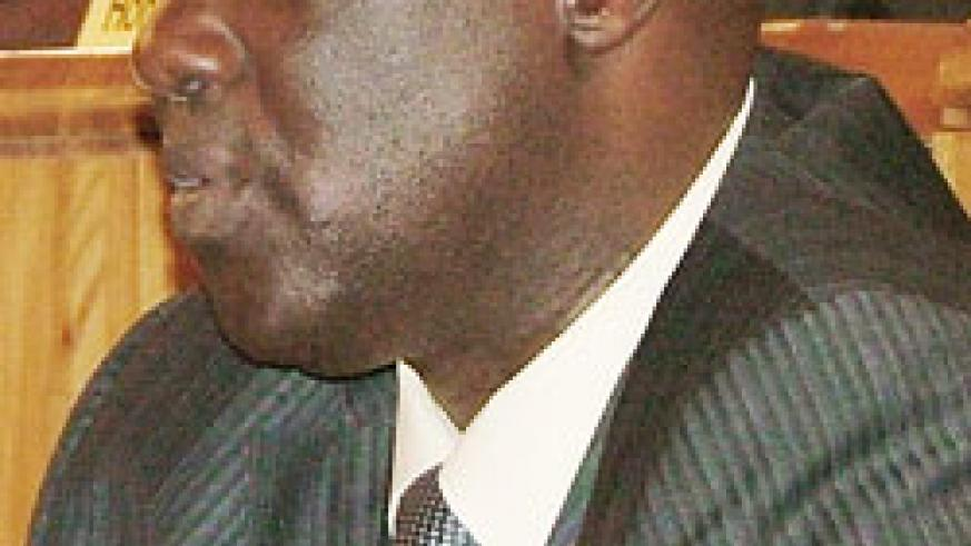 Alfred Kayiranga, the new chair of the political committee in Parliament.