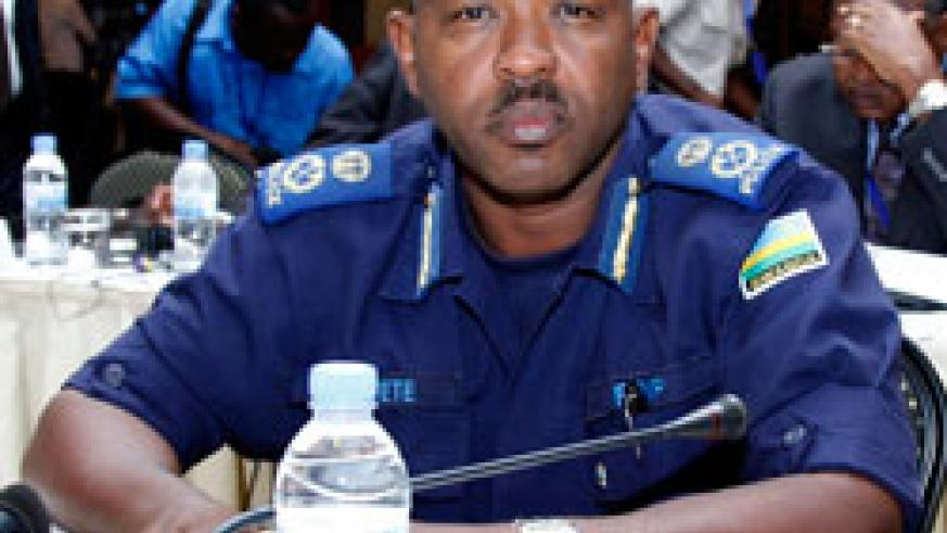 Commissioner of Police Cyprian Gatete