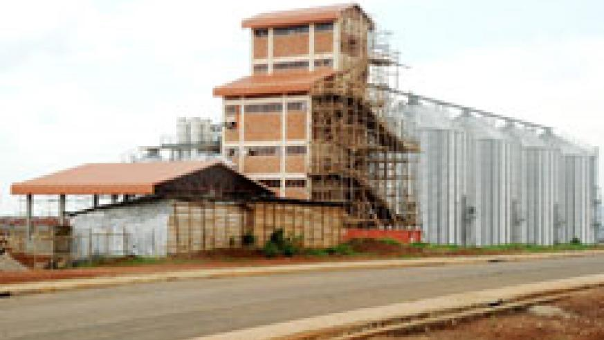 Silos owned by the Agriculture ministry are some of the investment projects already in place at the Kigali special economic zone. The New Times / J Mbanda.
