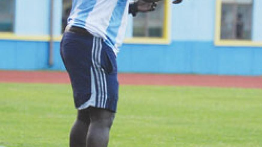 Jean Marie Ntagwabira is happy with Rayon's perfect start. The New Times / File photo.