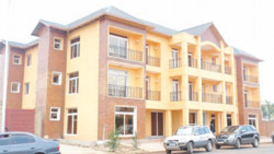 Residential apartmentswill ensure better management of land in urban areas. The New Times /File.