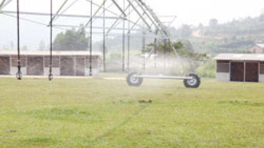 An Irrigation facility. Ngoma residents have called for highland irrigation as a way of maximising production. The New Times /File.