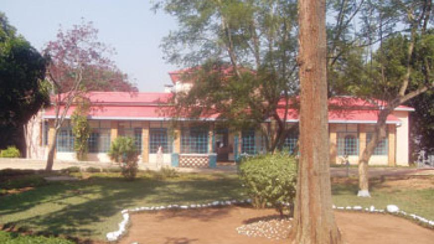 The the first mordern house in Rwanda. The New Times / File