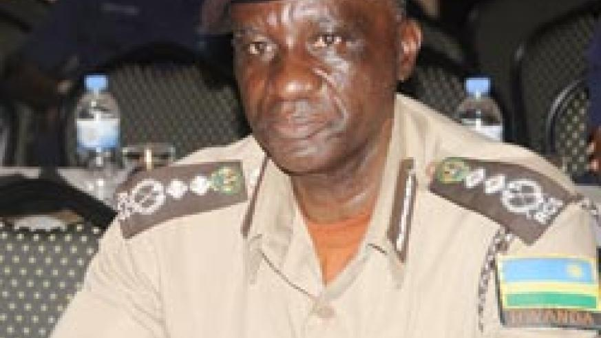 Prisons chief,  Paul Rwarakabije