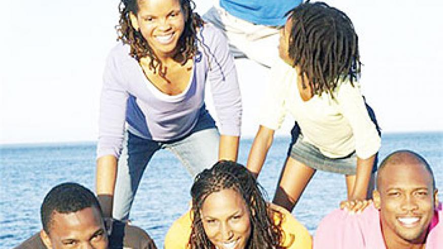 Empowered youth aim for the sky. Net photo