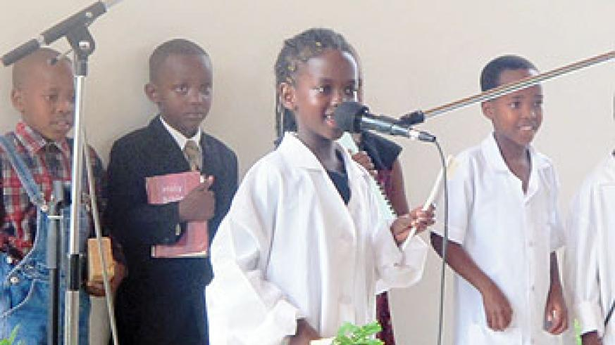 The children spoke about their future dreams. Some wanted to be dentists, engineers, pastors, nurses, artists among others.