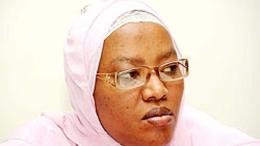 Vice president of the National Electoral Commission Fatou Harelimana is among the nominees for to represent the parties forum in the Senate.