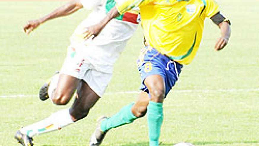 Haruna Niyonzima (with the ball) is one player who has a lot to prove after falling out of Amavubi's starting XI. The New Times/File photo