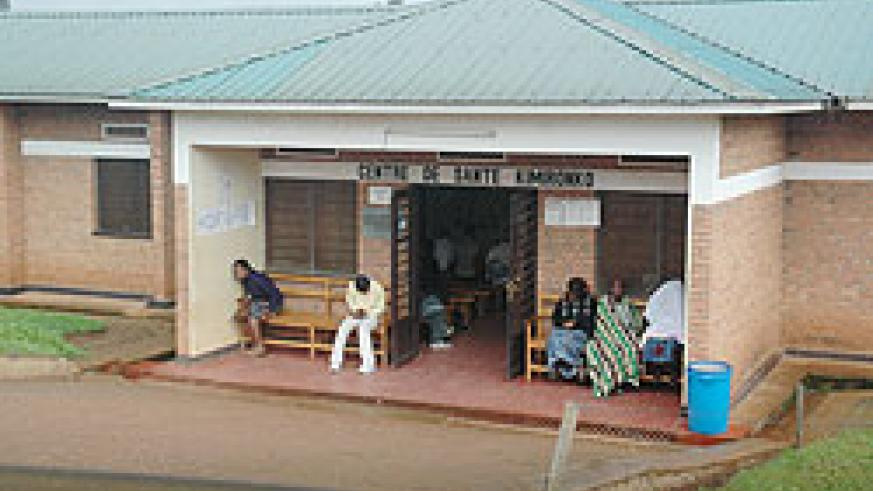 Patients seek services at Kimironko Health Centre;  a new report says some people still have to travel long distances to access health facilities.