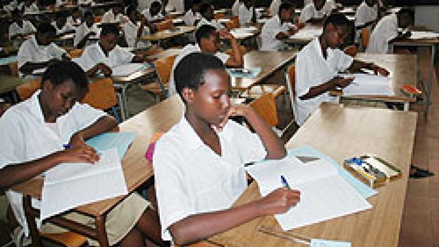 The School milk programme will help raise education standards in schools.  The Newtimes/ File photo.