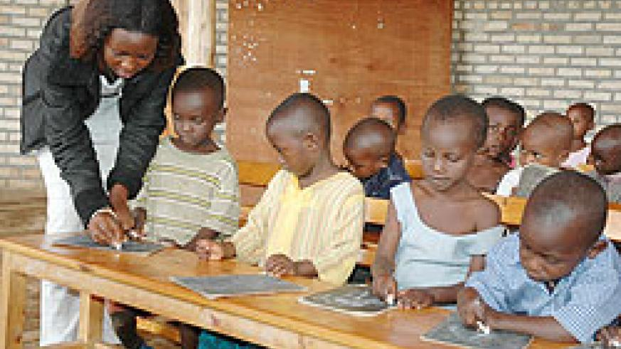 More school children will benefit from the milk programme. The New Times File.