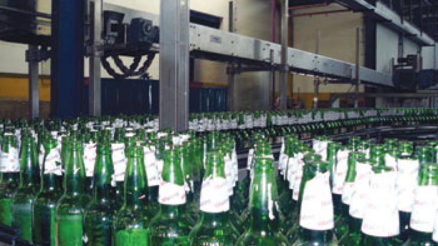 Bralirwa's beer plant in Gisenyi. The company has increased beer prices citing high production costs. The New Times / File