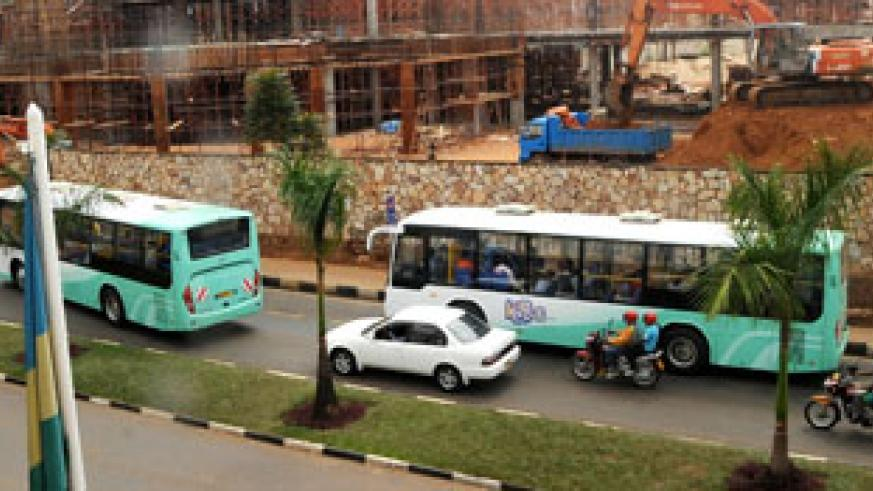Kigali Bus Service has improved transport business in Kigali. The New Times / File.