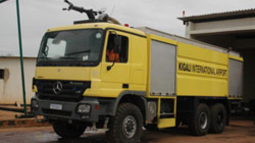 Having fire-fighting trucks in the districts will be useful in case of fire breakouts. The New Times / File