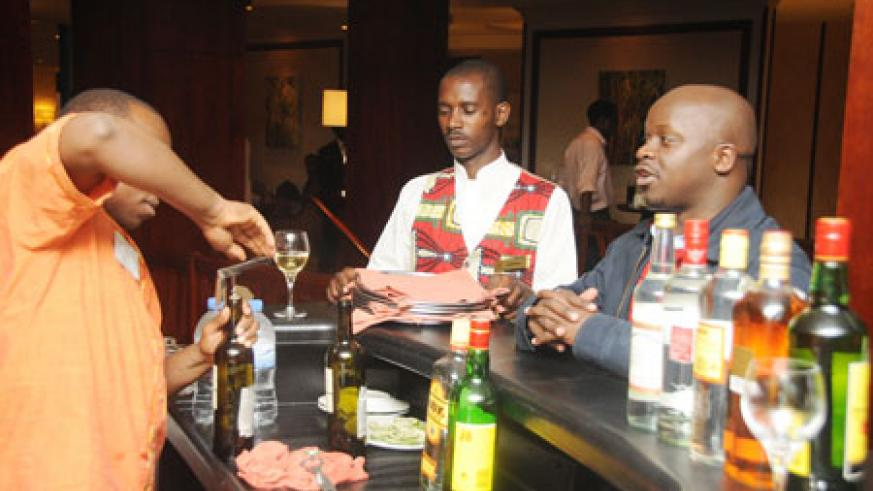The event was great, with the hotel's staff offering food and drinks.The NewTimes / T Kisambira.