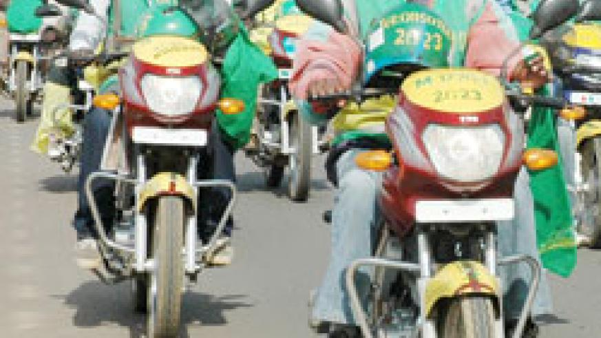 Motorcycle operators are free to operate beyond 10p.m despite the existence of a restricting bylaw.The New Times / File