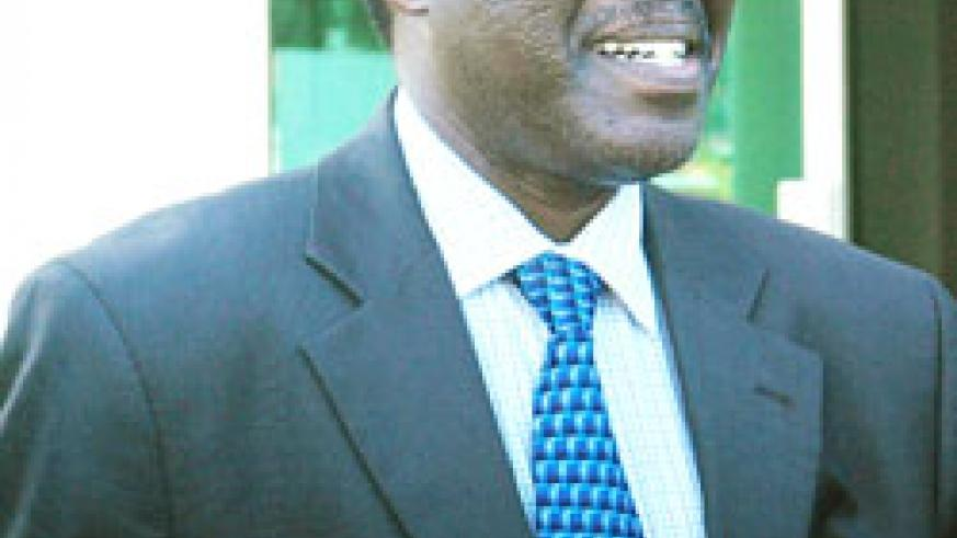 Dr Michael Biryabarema, the Director General for Mines and Geology in the Ministry of Natural Resources