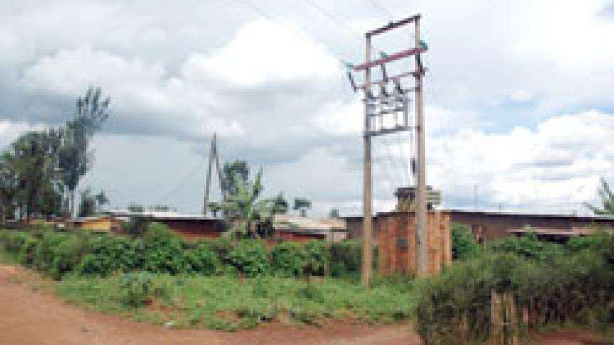 Musaza Sector in Kirehe District is due to be connected to the national grid. The New Times / File.