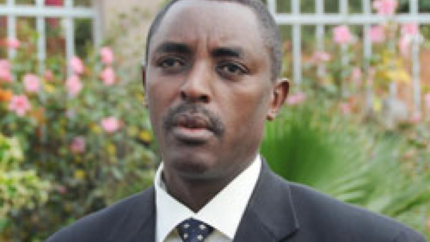 Jean de Dieu Mucyo, the head of the National Commission for the Fight against Genocide (CNLG)