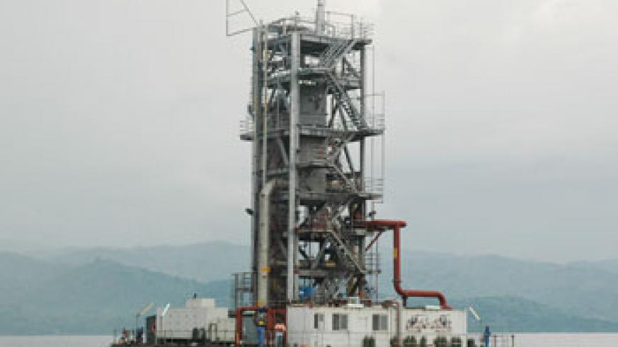 The Methane Gas Plant in Lake Kivu. There are varied opportunities in the energy sector among other sectors. The Newtimes / File.