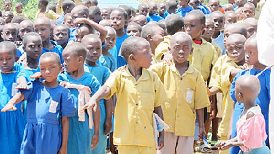 Rwandans  have been urged to protect children from violence inflicted on them. (Photo D. Umutesi)