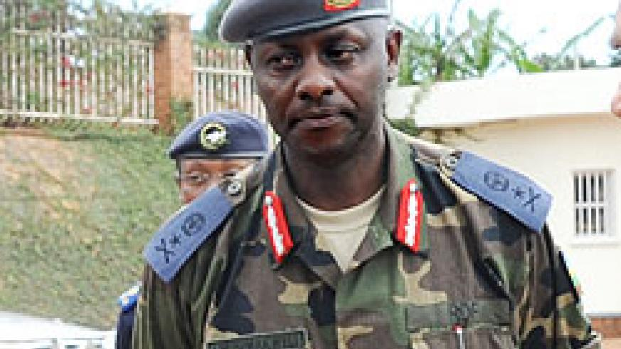 Brig. Gen Jaques Musemakweri will head the EAC Command Post exercise.