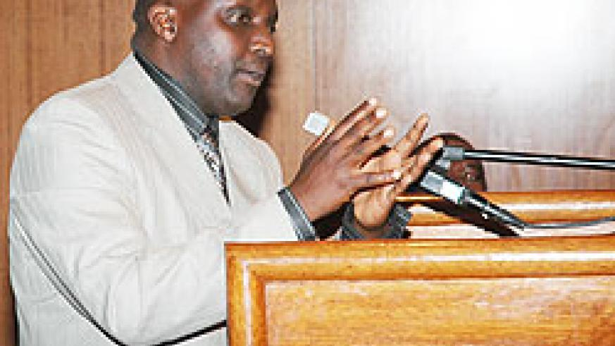 Gicumbi Mayor Bonane Nyangezi
