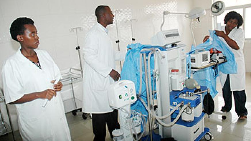 Modern equipment at the centre, provides quality care for GBV victims. (File Photo)