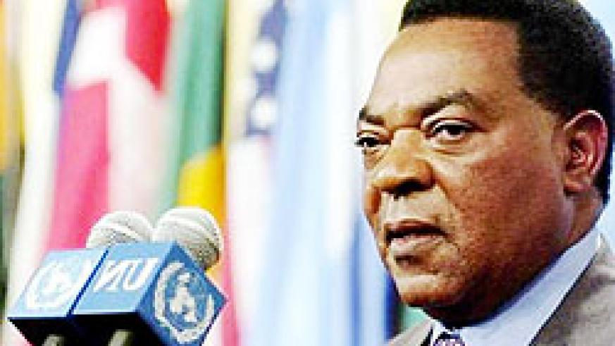 Augustine Mahiga, the Special Representative of the UN Secretary General in Somalia