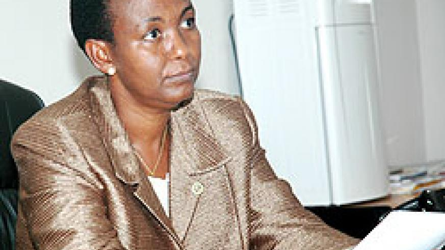 Gender and Family Promotion Minister , Aloisea Inyumba