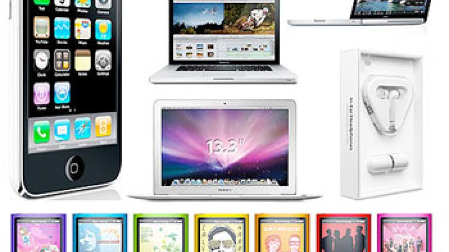 Some of Apple's sensational products. Net Photo