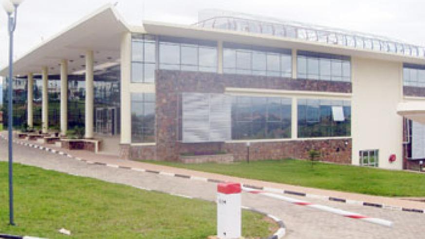 The Kigali Public Library is slated to open in 2012. The New Times / M. Bishop