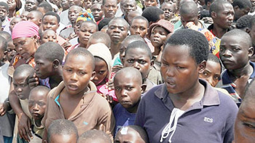 Intensive family planning campaigns can control Rwanda's population. The New Times / File photo