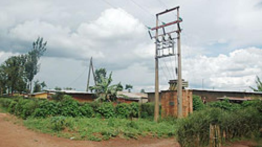 More rural households to access power. The New Times / File.
