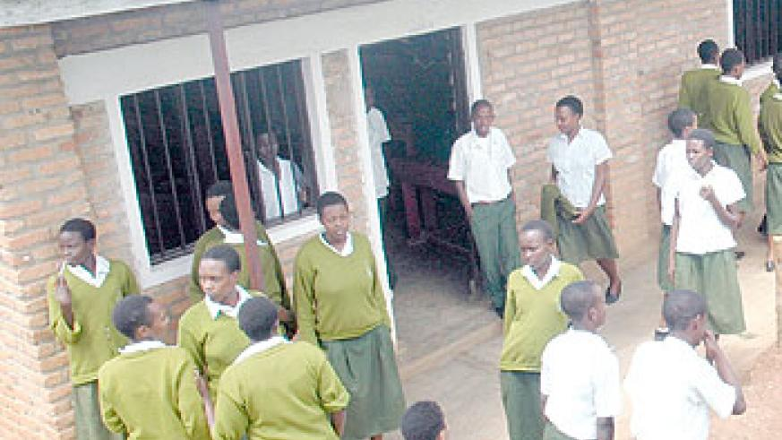 Secondary school students will be able to access condoms to prevent HIV-AIDS prevalence and teenage pregnancies. The New Times / File