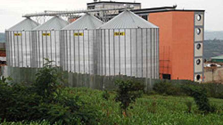 A Bakhresa storage and processing facility at the Free Economic Zone in Nyandungu, Gasabo District. The Tanzanian grain milling company has complained about poor services from government agencies, including RDB. The New Times / File