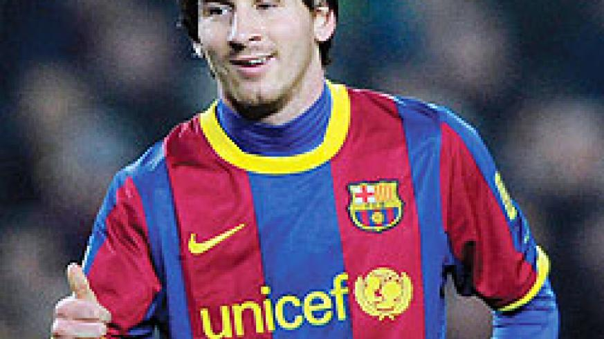 Lionel Messi is favourite to win the Ballon d'Or for a third year running.