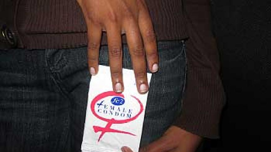 The barriers sorrounding the female condom need to be broken. (Photo. D. Umutesi)