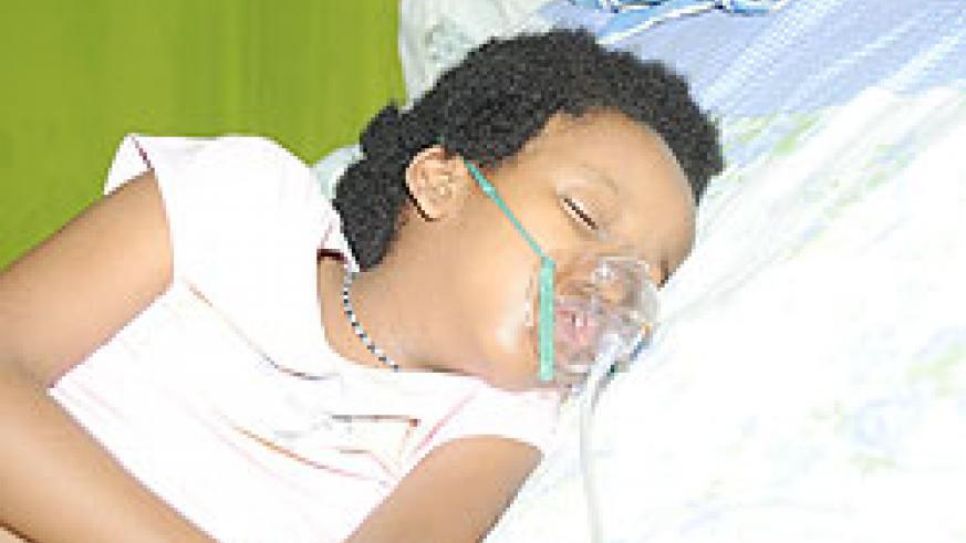 Jessica Ishimwe succumbed to Dextrocardia, a rare heart condition yesterday at CHUK.