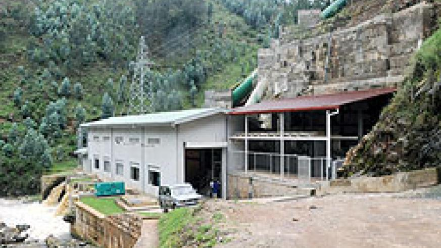 A section of the Rukarara Hydro power plant in Nyamagabe District. Lawmakers have paid a visit to the controversial project. The New Times / J. Mbanda.