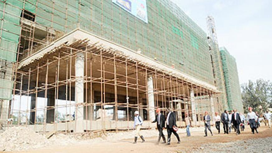 The completion of five-star Marriott hotel will bridge the hotel rooms deficit in the country Th New Times / File photo