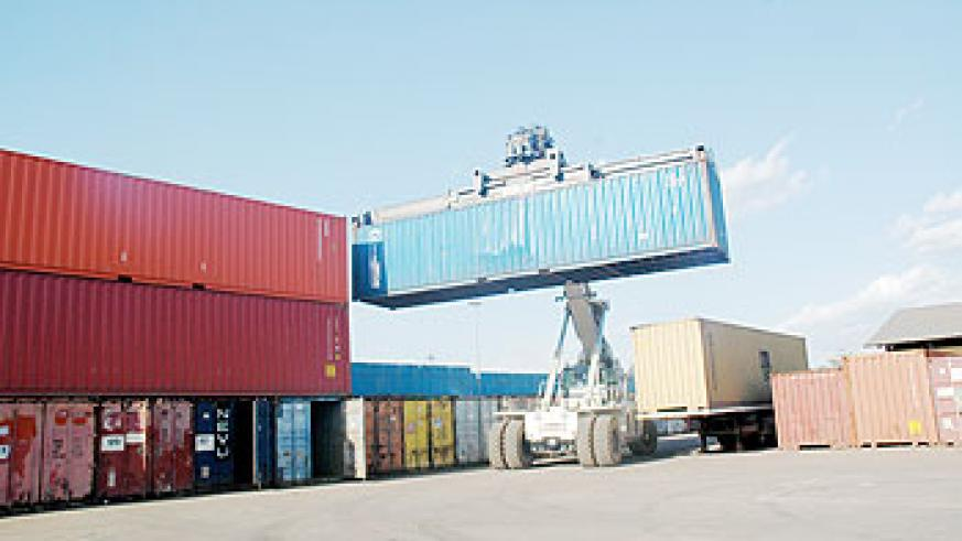 Cargo handling at Magerwa The New Times/ File Photo