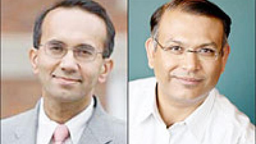 Tarun Khanna and Jayant Sinha