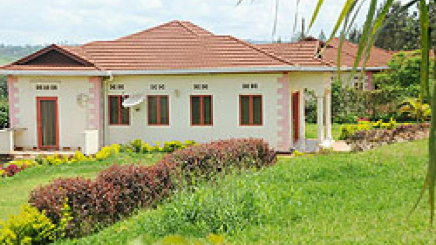 One of the houses in the controversial Hillview Estate developed by DN International in Masaka Sector, Kicukiro District. The New Times / File.