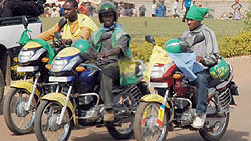 Motorcyclists have been accused of evading taxes in Gatsibo District.