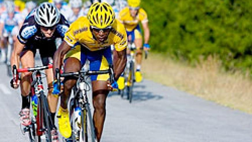 MTN Qhubeka's Adrien Niyonshuti needs a perfect ride today to boost his chances of winning a third Tour of Rwanda title. The New Times / File.