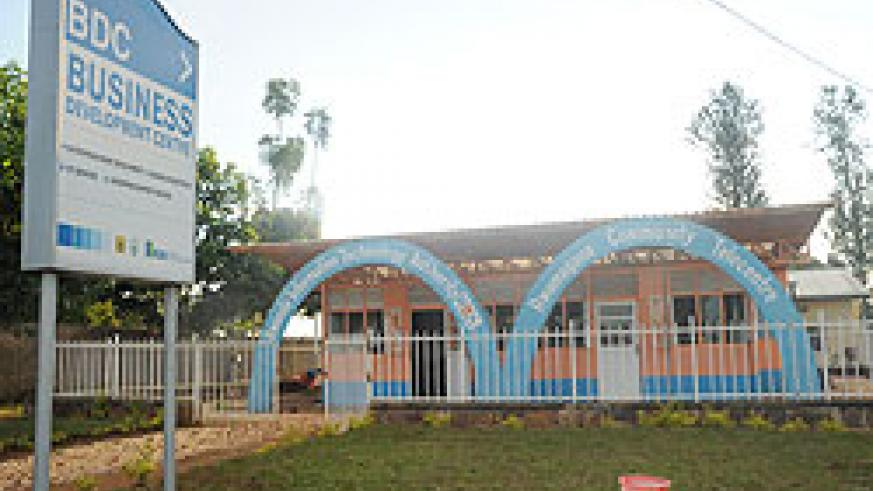 A community telecentre in Rwamagana district. With reduced internet charges, such infrastructure will be more popular. The New Times file.