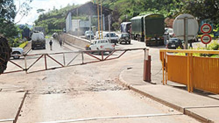 The Rusumo border post near Tz. Government says it can only vouch for political federation after previous protocols are implemented. The New Times File.